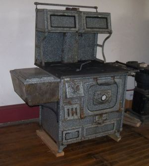 Wood cook stoves, Kitchen Queen and Bakers Oven wood cook